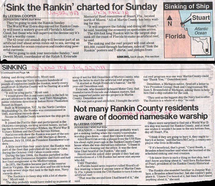 1988 - Jackson (MS) Daily News, 7/22/88
